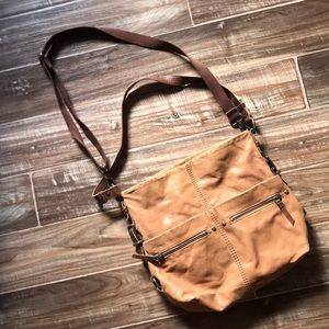 The Sak brown leather purse